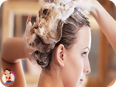 اضرار غسل الشعر