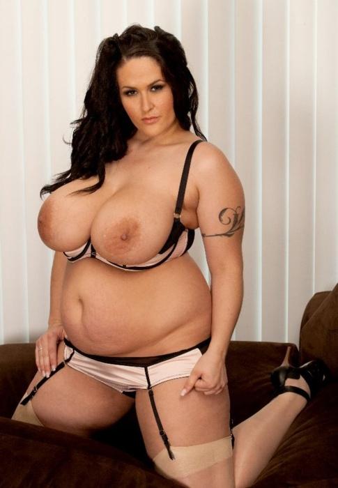 Carmella Bing Topless Fat