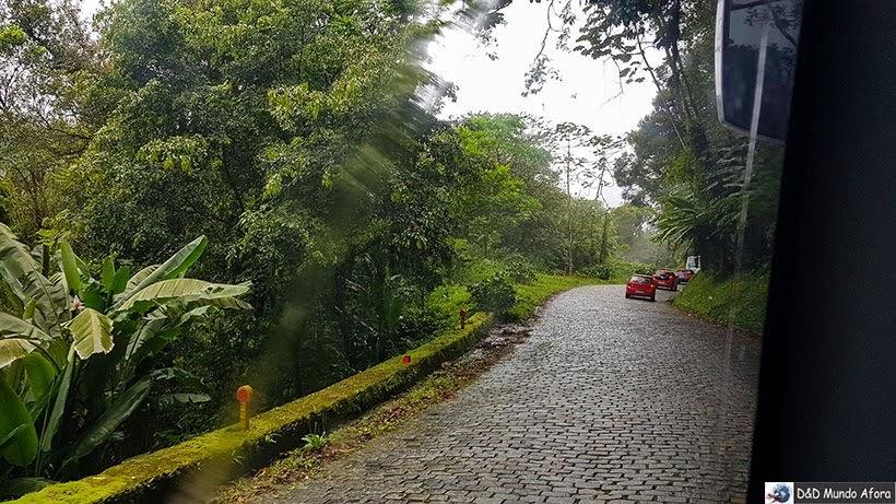 Estrada Graciosa rumo a Morretes  - Passeio de trem de Curitiba a Morretes