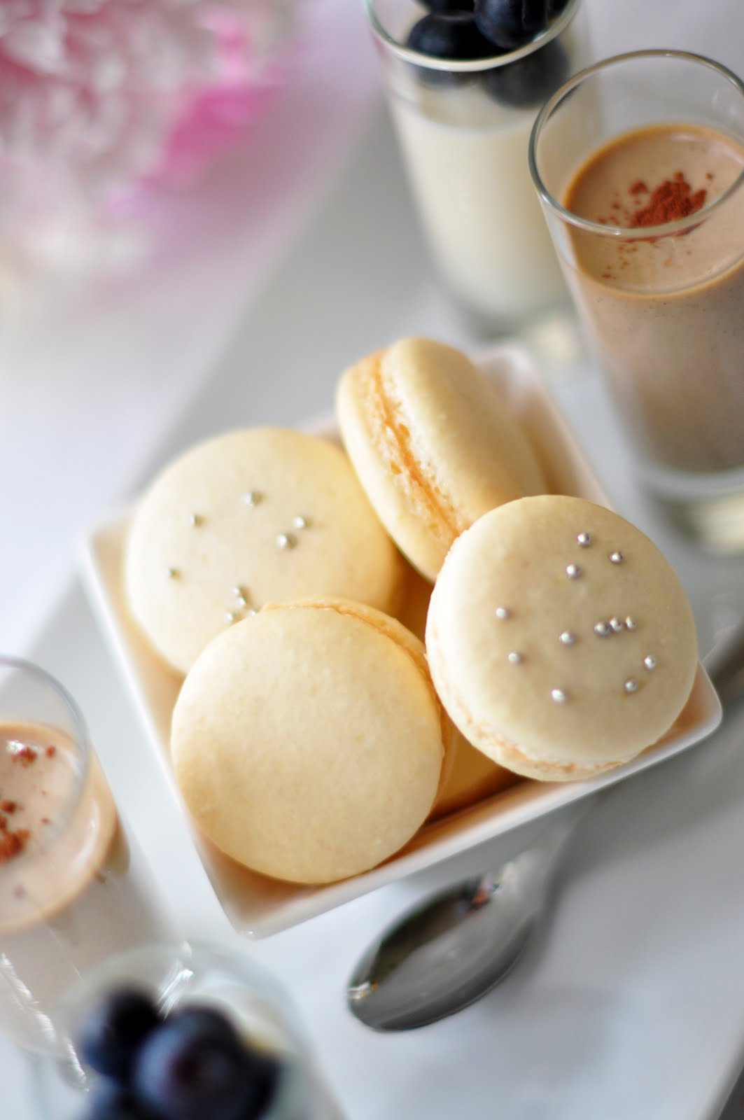 A Wonderful Day Of French Macarons And Panna Cotta Dk Designs