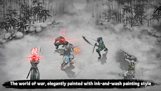The World of War, elegantly painted link-and-wash painting style.