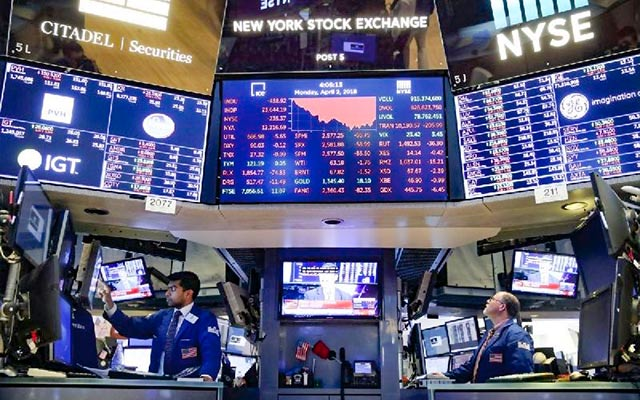US Stocks Finish Generally Higher to End March