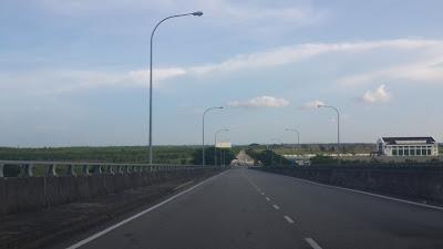 Jalan menuju Bandar Seri Begawan