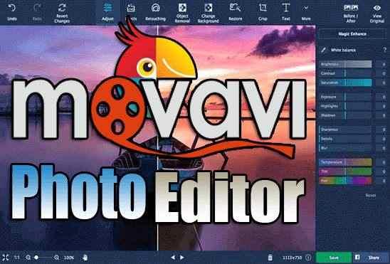 تحميل برنامج Movavi Photo Editor 6.7.1 Portable نسخة محمولة مفعلة اخر اصدار