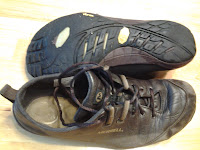 Merrell shoes with a vibram sole.