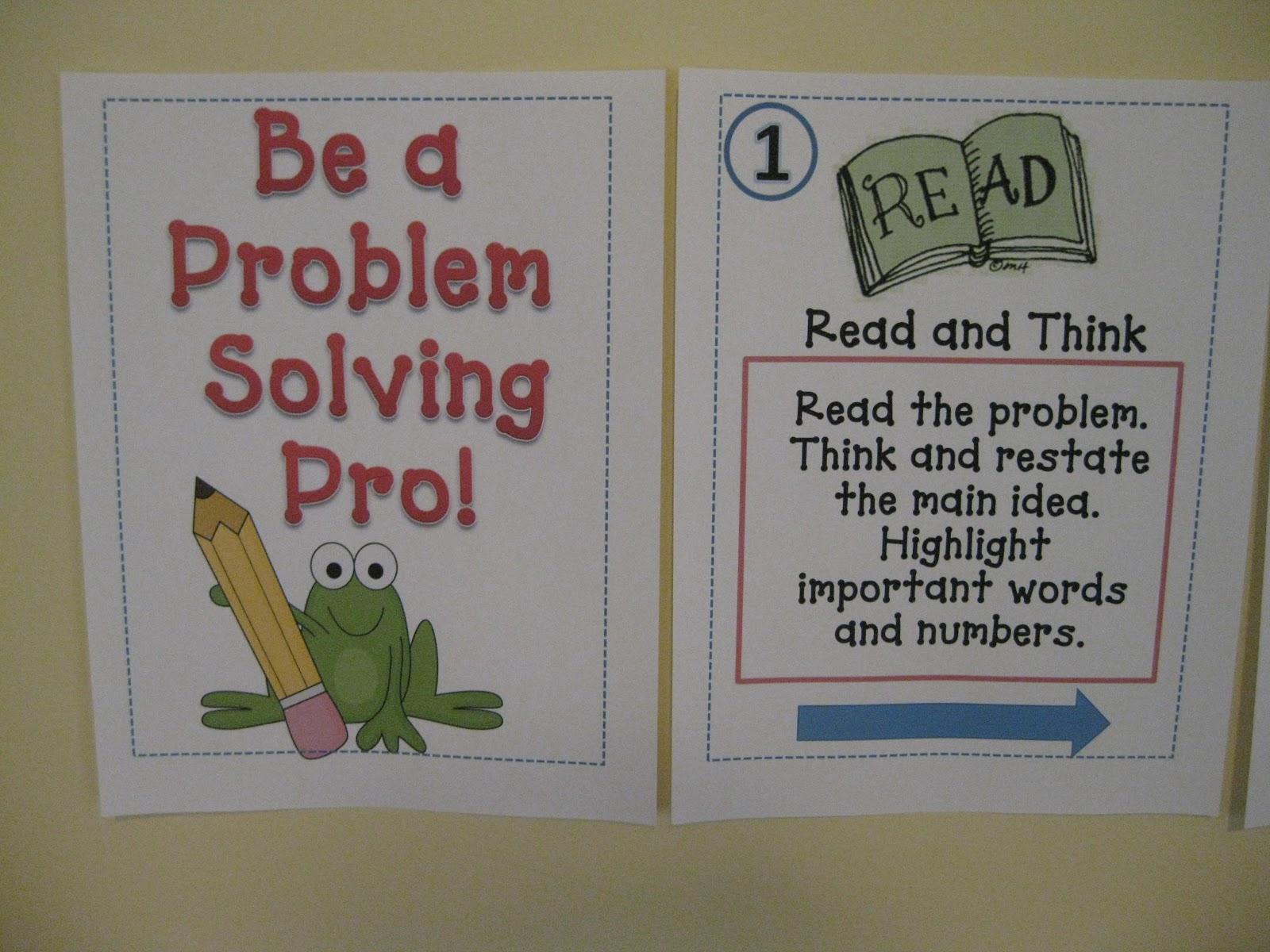 Third Grade Thinkers Problem Solving Comprehending The Math
