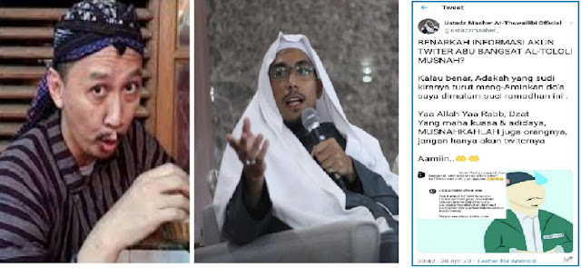Akun Abu Janda Lenyap, Ustadz Maaher: Ya Allah, MUSNAHKAHLAH Juga Orangnya...