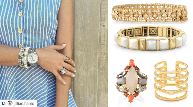 Stella & Dot Jewelry as seen on Jillian Harris