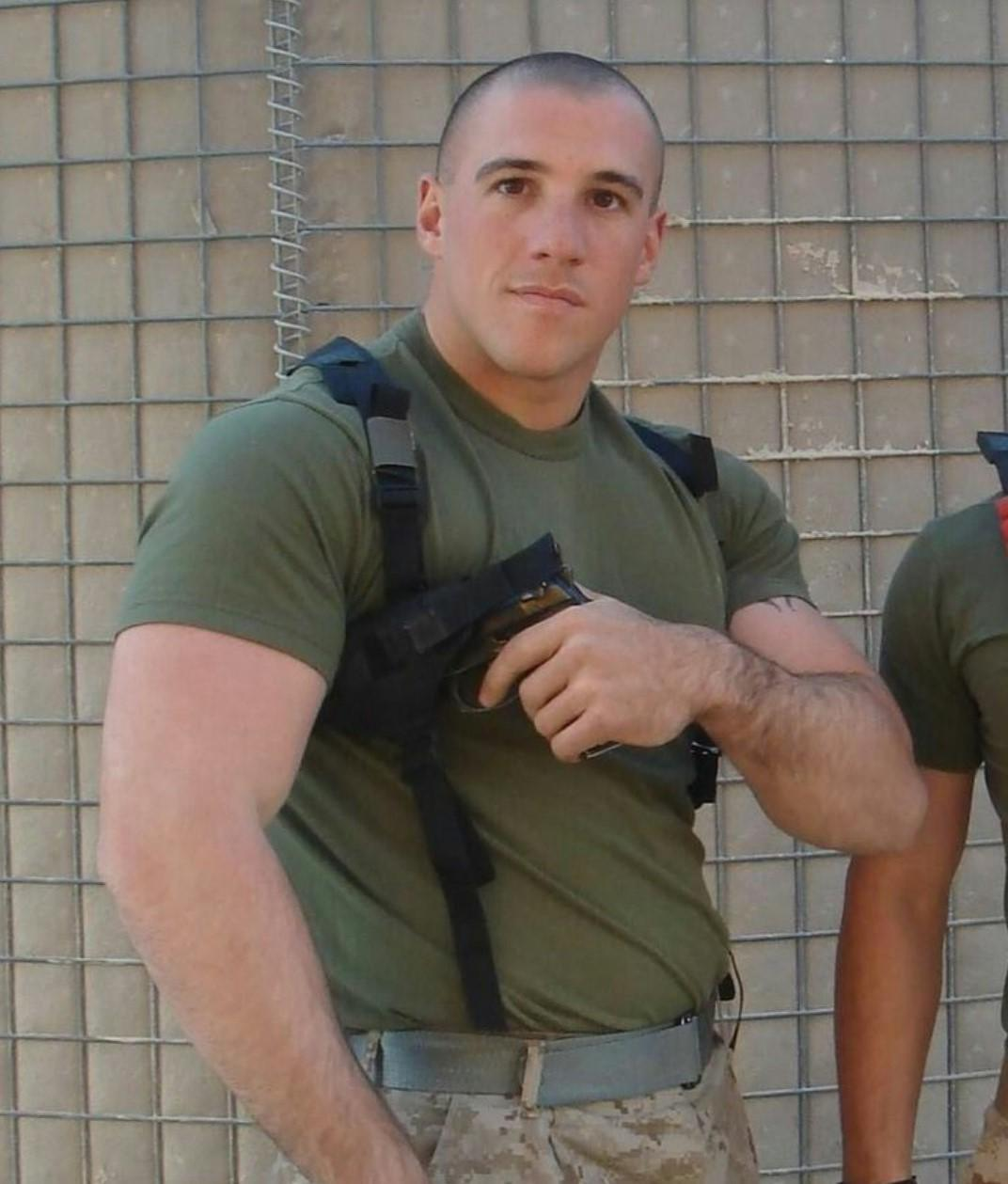 beefy-masculine-real-alpha-male-armed-soldier-hairy-arms-bulldog-security-officer