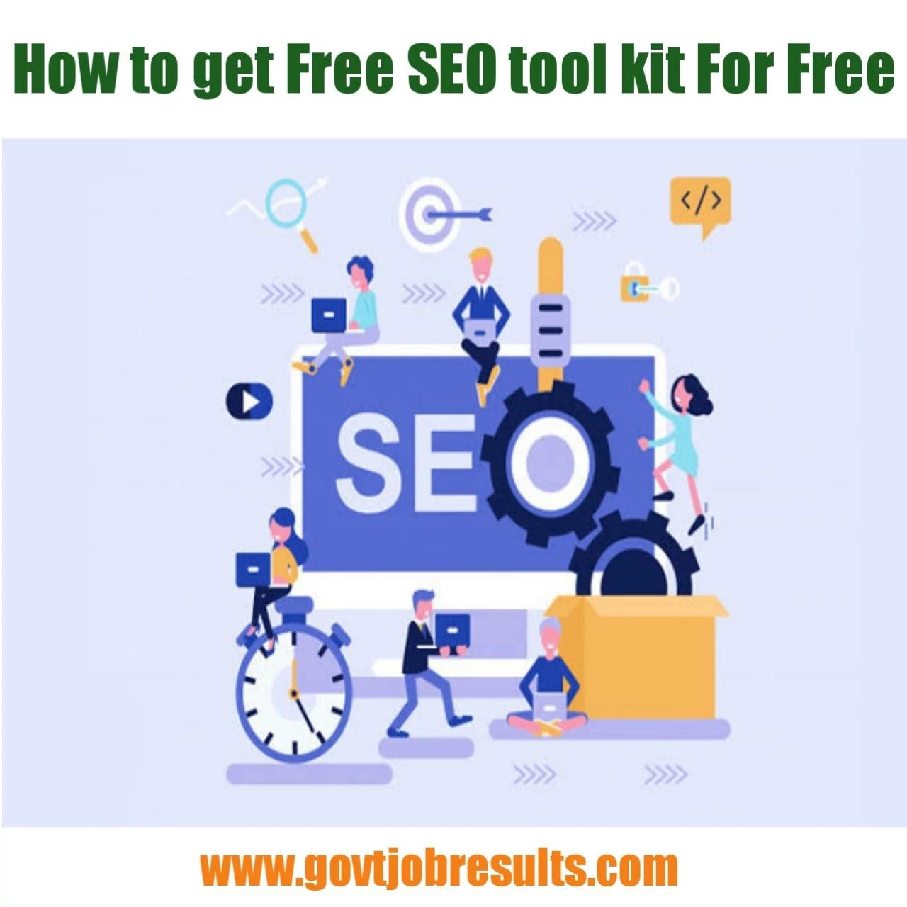 Free Seo Tool kit