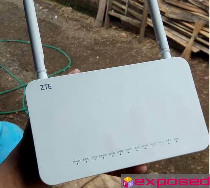 Cara Ganti Password WiFi dan nama WiFi IndiHome ZTE F609/F660