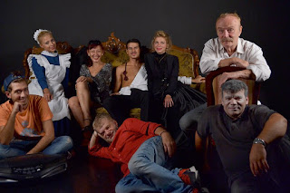 Με τη θεατρική ομάδα από το Σνίτσλερ με Βότκα Τσέχωφ