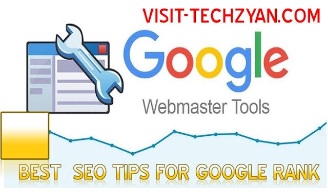 1.अपने blog website को Google webmastertools में रजिस्टर करें