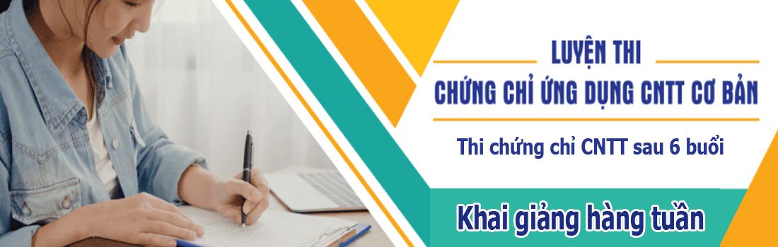 Tin Học Văn Phòng tại Biên Hoà