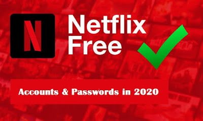 Free Netflix Accounts march 2020 all working