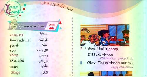 أقوى مذكرة لغة انجليزية للصف الرابع الابتدائي ترم ثاني ٢٠١٩– مستر سعيد الحيت