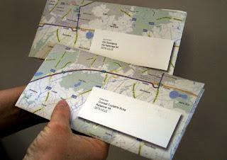 wegenkaart op maat van de doelgroep