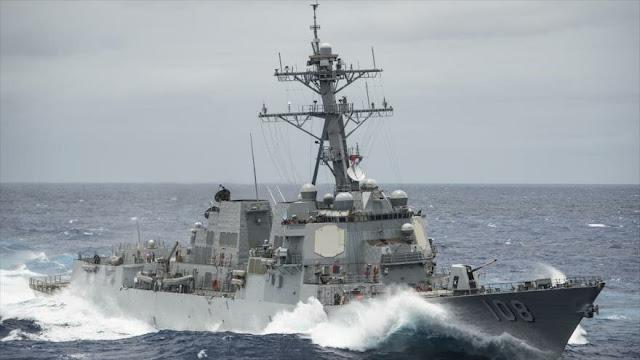 China denuncia violación de sus aguas por destructor de EEUU
