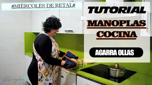 Tutorial manoplas de cocina
