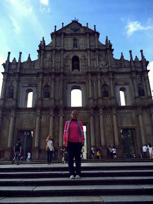 Di The Ruin of St. Paul yang fenomenal