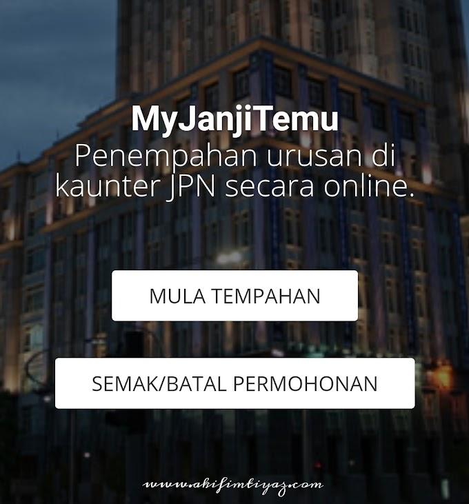 MyJanjiTemu JPN  Untuk Buat Kad Pengenalan Akif