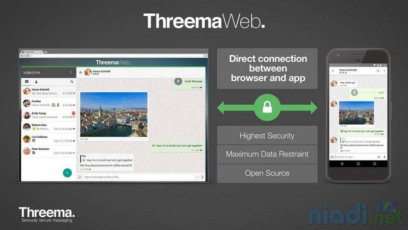 mengenal threema app aplikasi chatting yang diklaim lebih aman