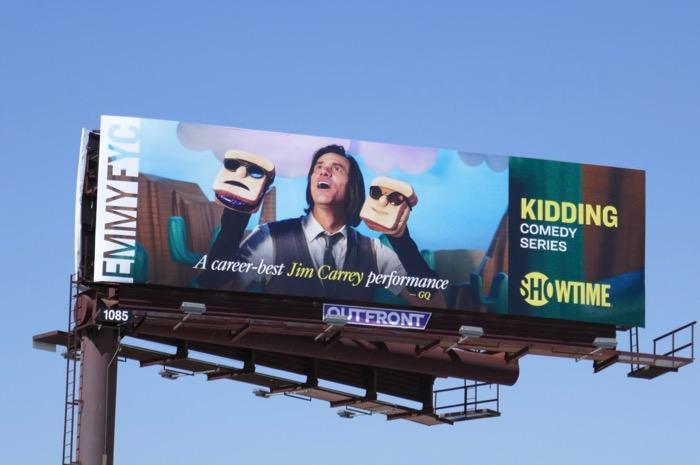 Kidding season 1 Emmy FYC billboard