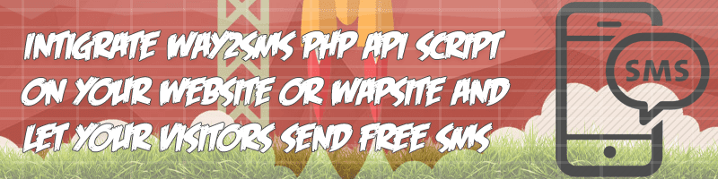 Way2Sms Php Api Script