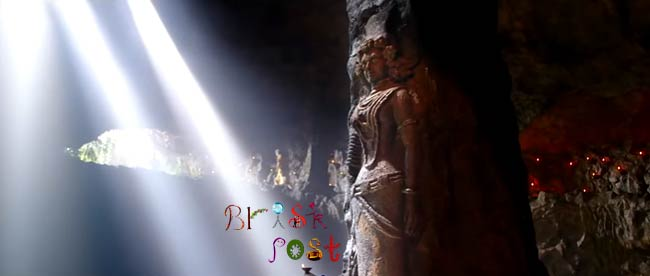 Ancient statue of Indus Valley Civilization in Mohenjo Daro