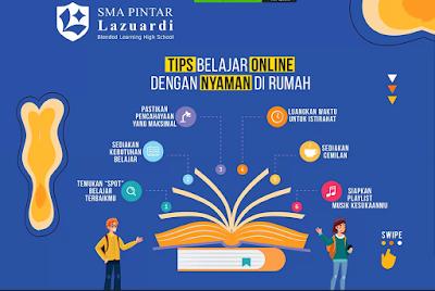 Tips Belajar online di rumah