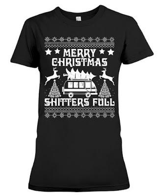 Merry Christmas Shitter Full T Shirt Hoodie Sweatshirt Sweater meme Tee Shirts. GET IT HERE