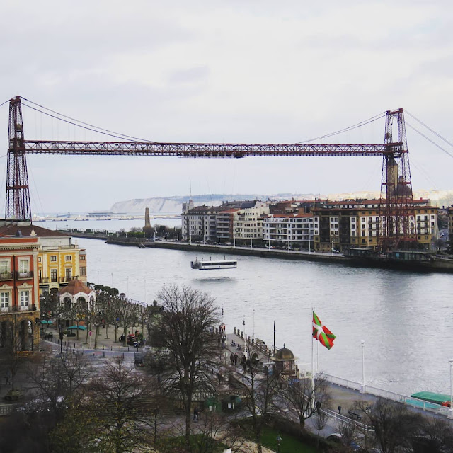 7 days in Bilbao in winter: Puente Bizkaia in Portugalete