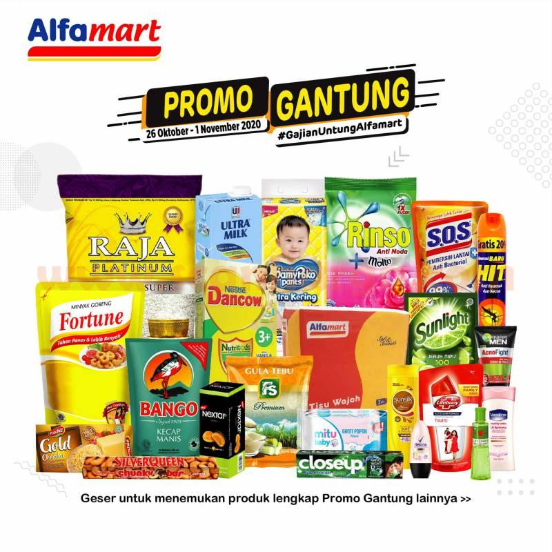Alfamart GANTUNG Promo Gajian Untung 26 Oktober - 1 November 2020 1