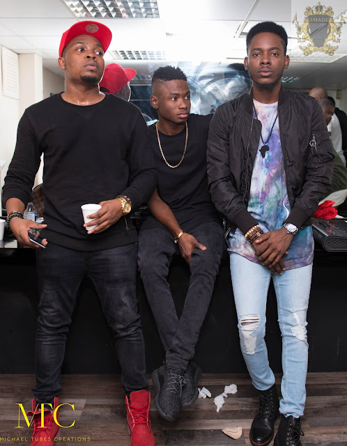 Olamide reveals the true state of his relationship with Lil Kesh,Adekunle gold