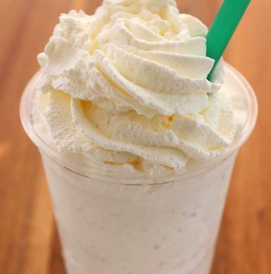 Vanilla Bean Frappuccino | Copycat Starbucks Recipe #Starbucks #Copycat