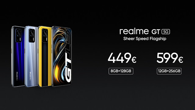 Reamle GT 5G Launched - Comes with Snapdragon 888G, 120Hz Display, 64MP Triple Camera, and 4500mAh Battery | TechNeg