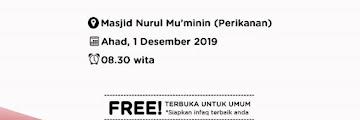 Agenda Kajian Dhuha Bersama Drs H Sutiyono di Masjid Nurul Mukminin Perikanan Tarakan 20191101