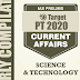 GS Score Target PT 2020 Science & Technology Current Affairs PDF Download in English