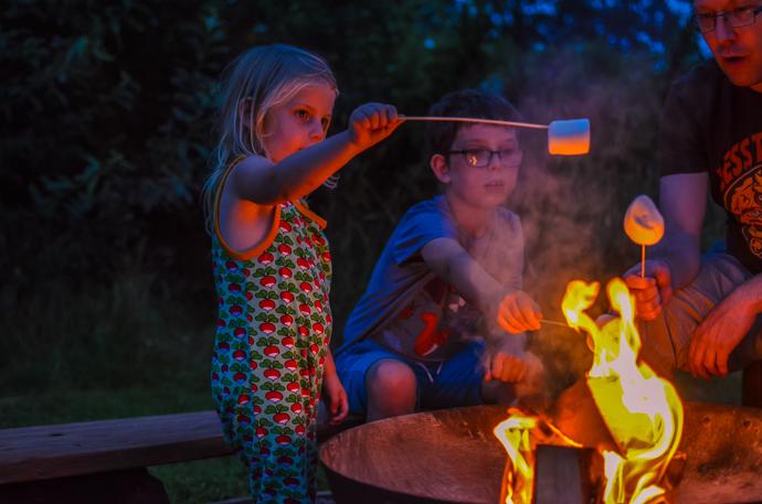 Blackdown yurts, family glamping trip