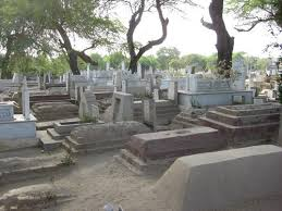 कब्रिस्तान पर संकट