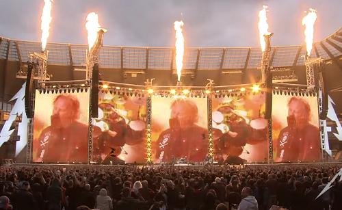 Turne mundial WorldWired do Metallica em Manchester 2019
