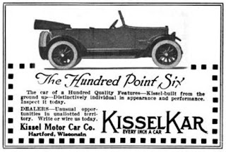 kissel cars poster