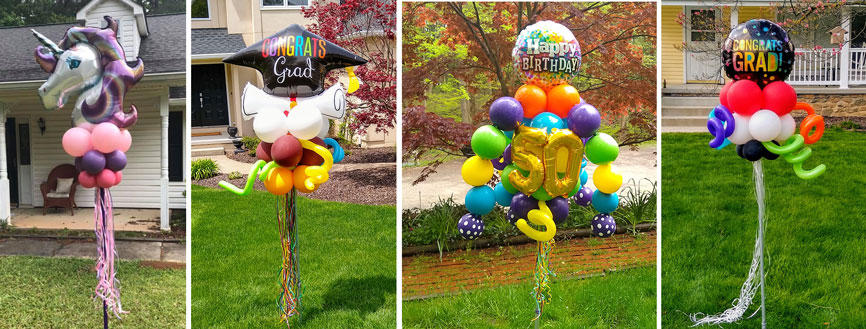 Hudson Ohio Balloon Decor and Yard Art Balloon Delivery