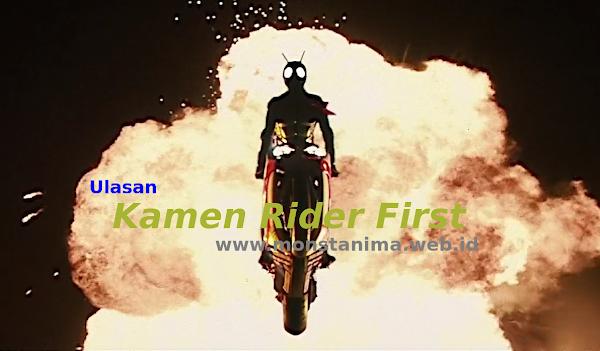 Ulasan Film Kamen Rider First, Superhero yang Sangat Manusiawi