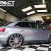 Audi Q3 rebaixada com rodas Porsche macan aro 22 suspensão fixa