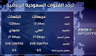 تردد قنوات السعودية الرياضية الجديد على النايل سات