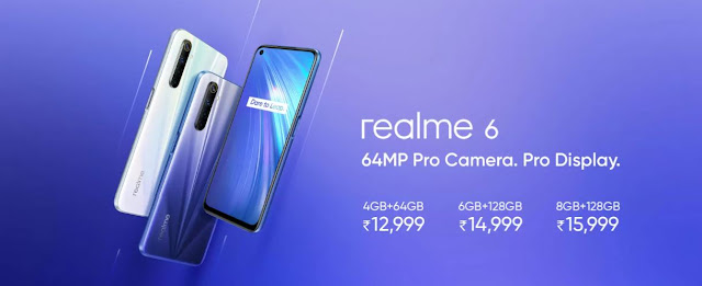 Realme 6 Launched in India with a 64mp Pro Camera. Pro Display.