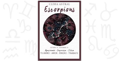Clima astral - Escorpión fin de semana