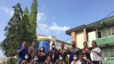 Open Kejuaraan Angkat Berat di Medan, Pabersi Tebingtinggi Raih 12 Medali