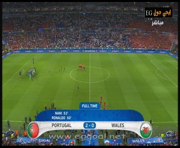 اهداف مباراة البرتغال 2-0 ويلز | يورو 2016 دور 4 portu vs wales